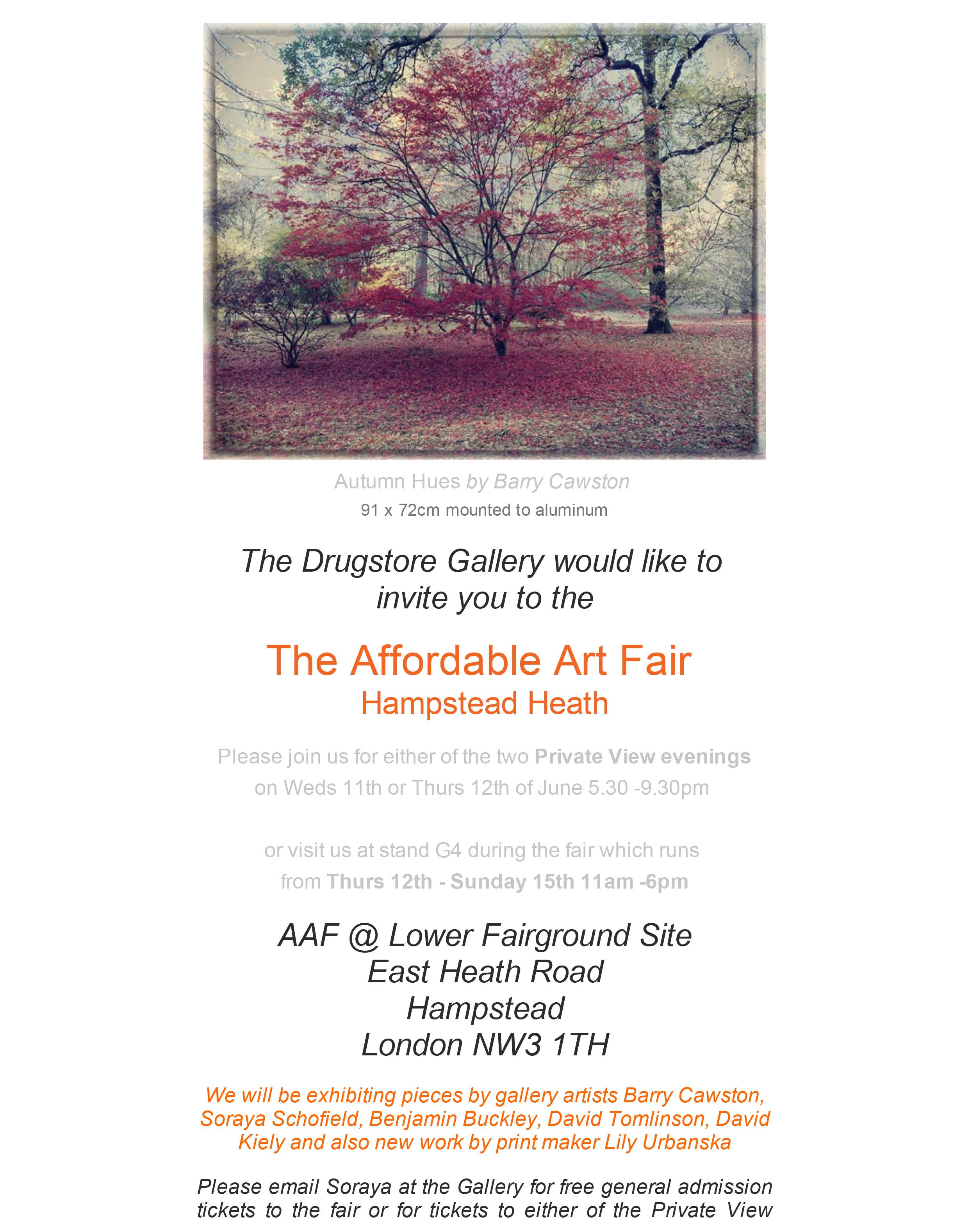 AAF Hampstead invite